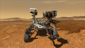 SKF roule sur Mars !